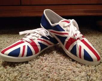 British Flag Custom Shoes