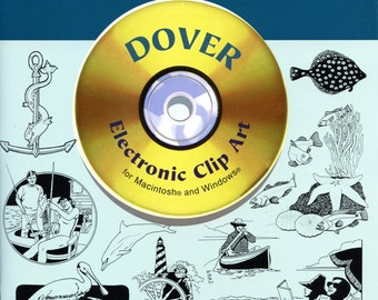 Nautical Illustrations (Dover Electronic Clip Art) CD-ROM and Book
