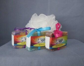 Personalized mini soap