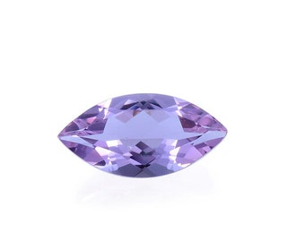 Lavender Alexite Synthetic Color Change Loose Gemstone Marquise Cut 1A Quality 10x5mm TGW 0.85 cts.