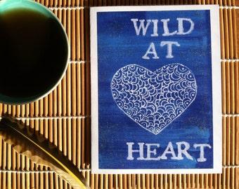 Wild At Heart- Postcard