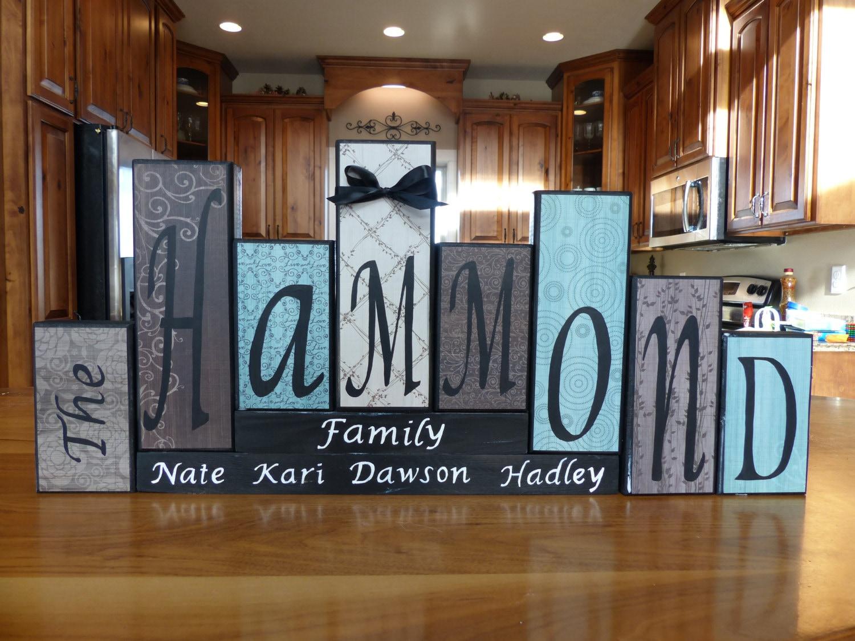word blocks word letter blocks family block letters home decor word blocks home decor name blocks personalized name block