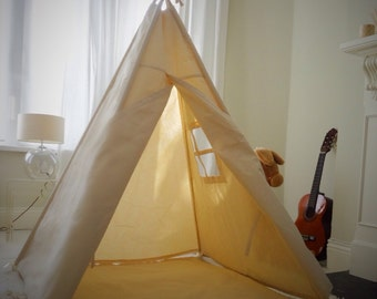 Large Children's Teepee Play tent with window