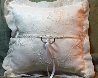 Wedding Ring Pillow / Ringbearer Pillow
