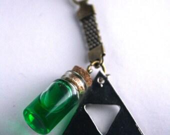 Legend of Zelda Keychain Potion bottles.