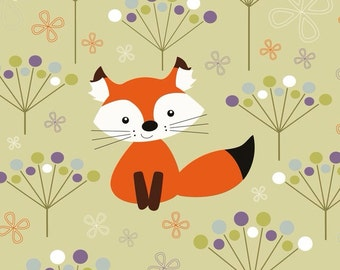 Cute Fox, Lined, Notebook, A5 journal, Wire bound, Spiral Bound, Woodland, Lisa Fox