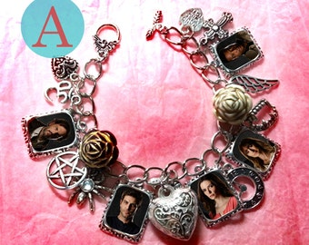 Grimm   charm bracelet necklace