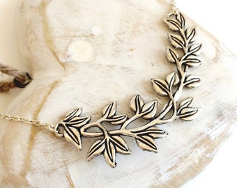 SALE - Branched Out Statement Necklace