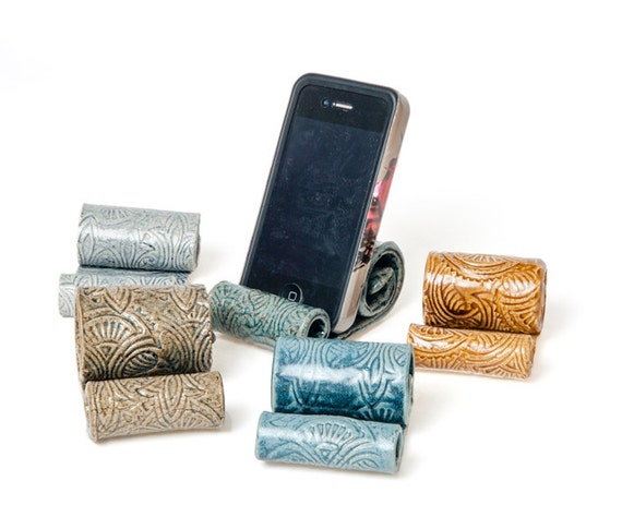 Ceramic cell phone holder, Parkmiphone