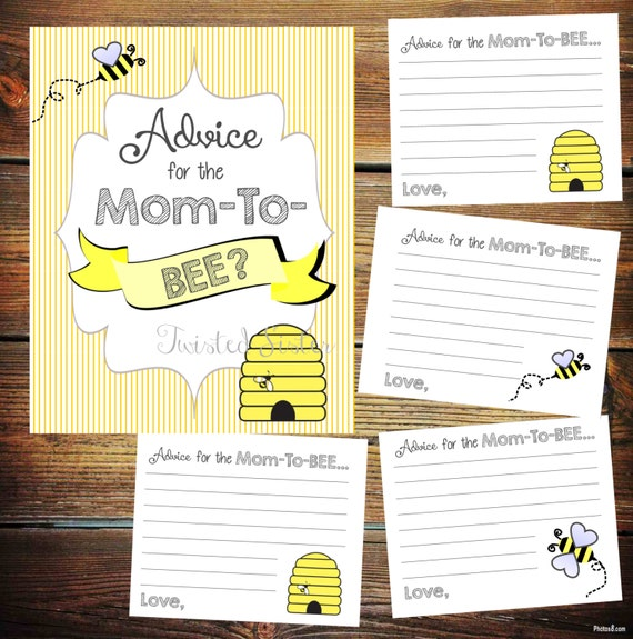 it bee baby shower games advice for the mom to bee bumblebee baby