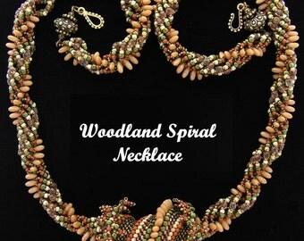 Woodland Spiral Necklace Kit