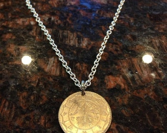 Nepal coin necklace