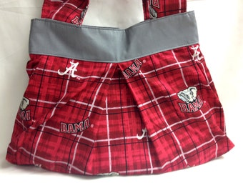 The Touchdown: Shoulder Purse (Alabama Crimson Tide Print)