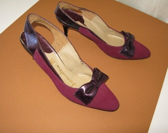 1960's Suede & Leather Dress Shoes