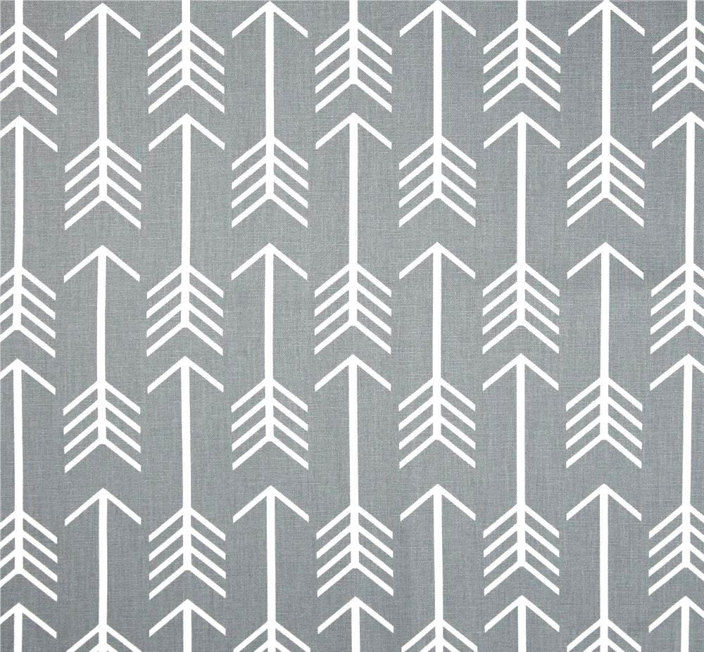 gray arrow fabricthe yard indoor or outdoor home decor