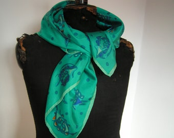 Silk scarf , Esprit ,