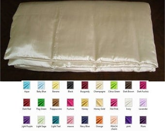 Silk  Comforter / Coverlet / Duvet - Multiple Colors And Sizes