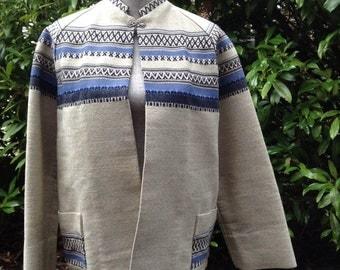 Handmade Designer Norwegian Wool Jacket