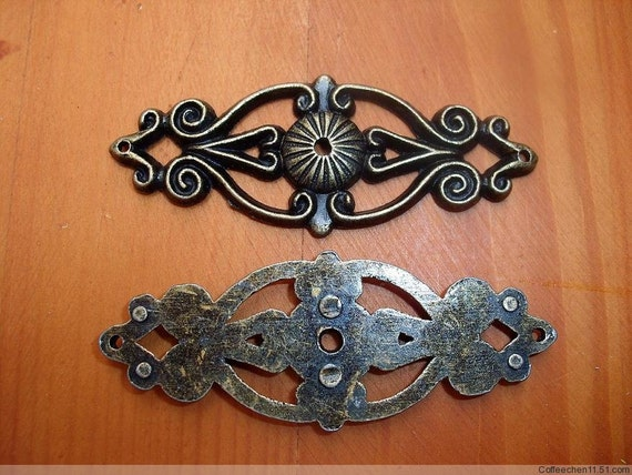 12 Metal Long Trims Classical Accent Protection Decoration