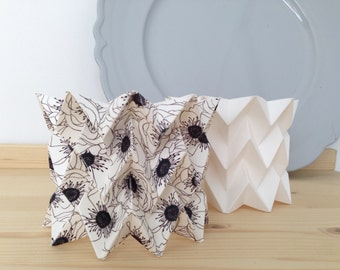 Origami Candle Holders // set of two