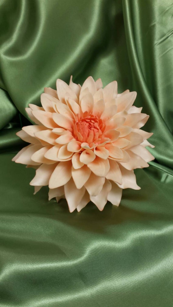 DAHLIA Wedding Cake Topper Sugar Flower Bridal Shower HIGH