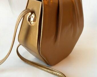 RARE vintage gold Ande' purse