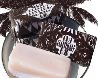 Combo Coconut & Lemongrass Solid Shampoo and Conditioner Bar