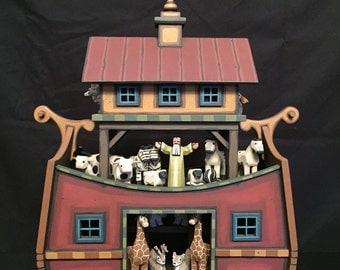 Wood Timber Frame Noah's Ark