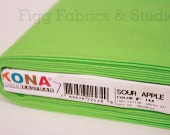 KONA Cotton in Sour Apple (Color 144)