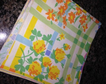 Cheerful Cotton Floral Napkins