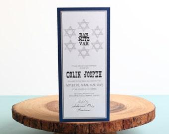 Bar Mitzvah Invitation - look 7