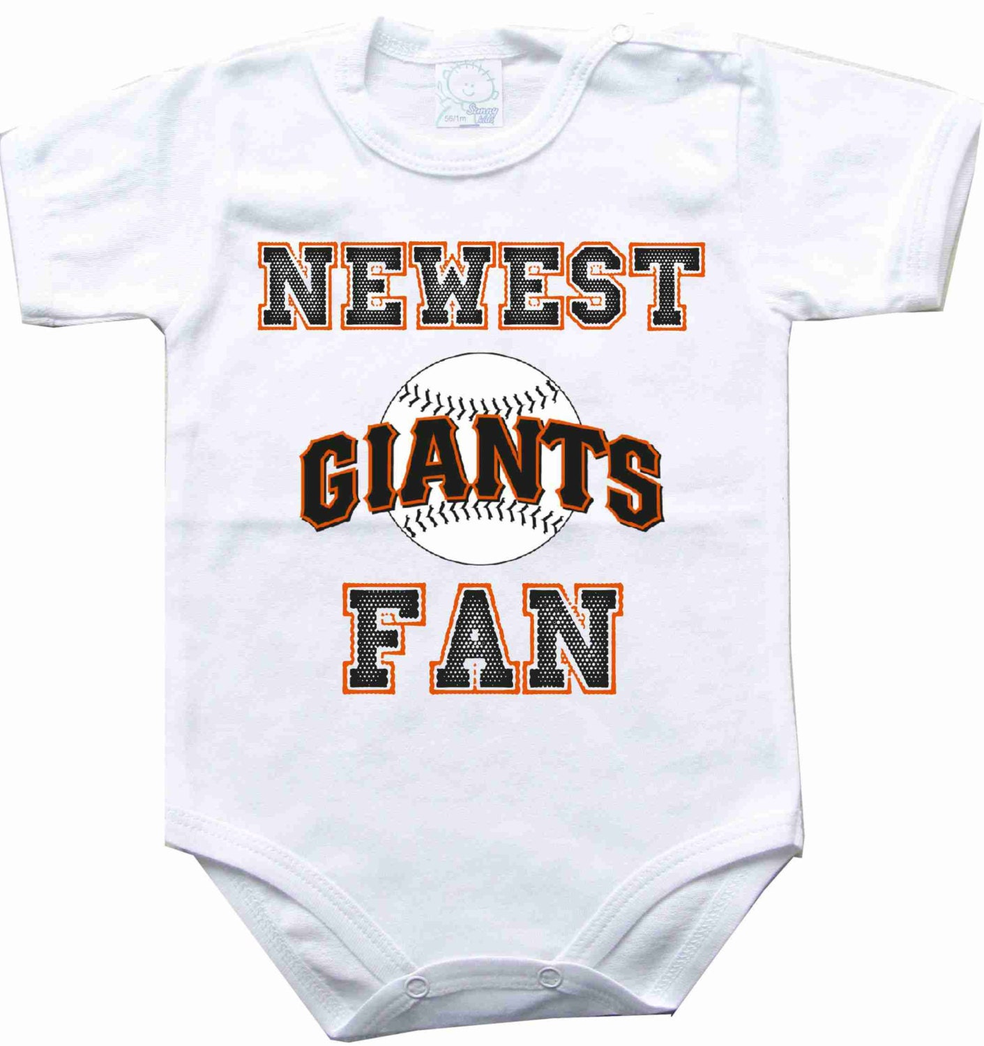 Baby Bodysuit Newest Fan San Francisco Giants Mlb