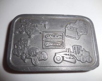 Vintage Gallion Dresser Steel Belt Buckle