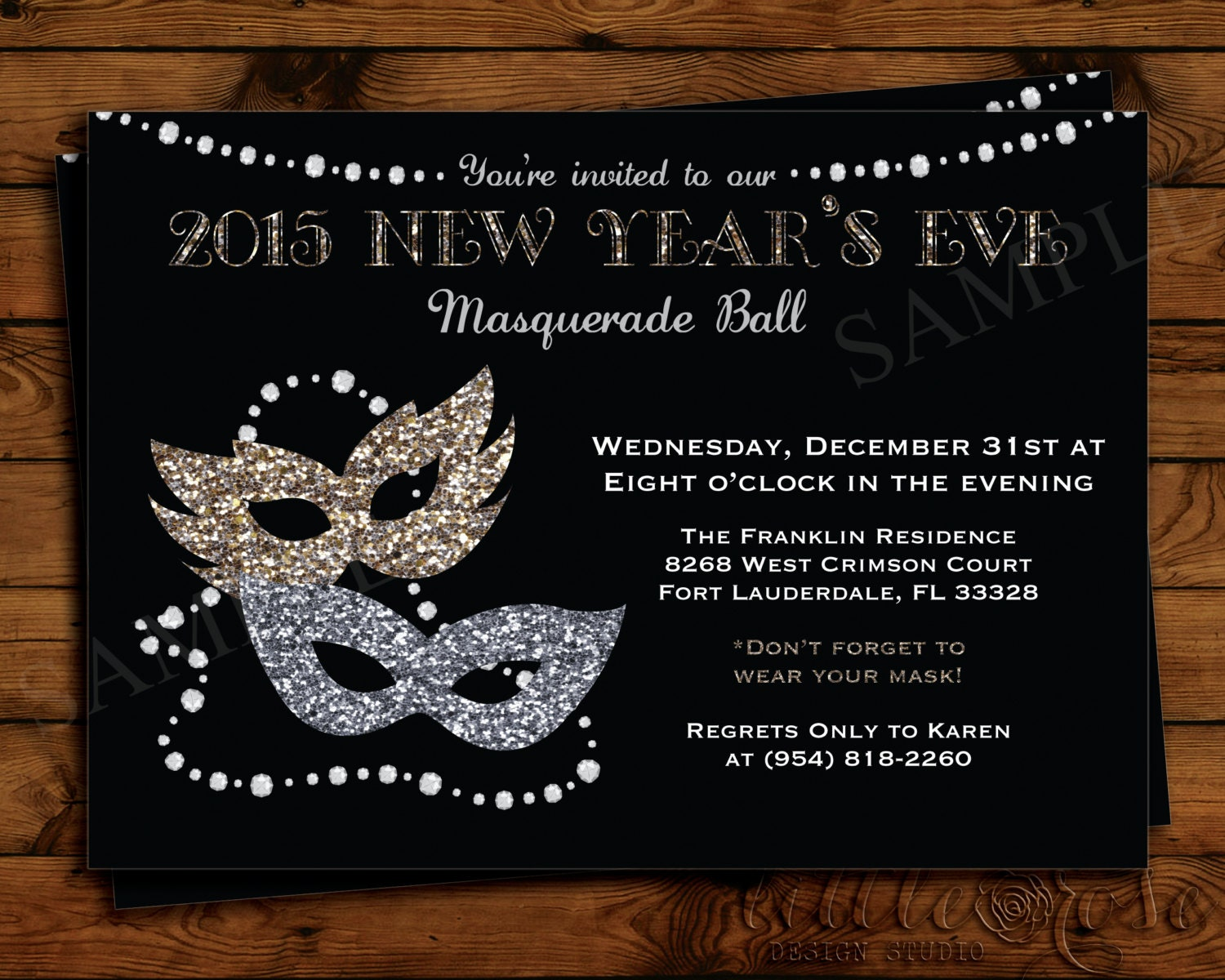 New Years Eve Facebook Banner New Year's Eve Masquerade