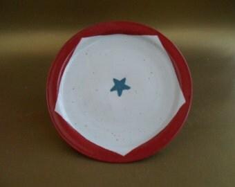 1 Small Pentagon Plate - Sacred Geometry