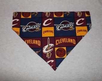 Cleveland Cavaliers Alternate Dog Bandanna in Small, Medium, & Large