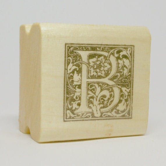 letter b rubber stamp by antspaudukai on etsy With letter b stamp