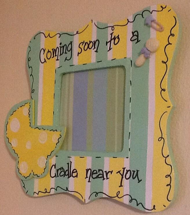 Nursery Frame, Baby Frame, Newborn Frame, Baby Announcement Frame, Baby  Shower Gift, Baptism Gift, Newborn Gift