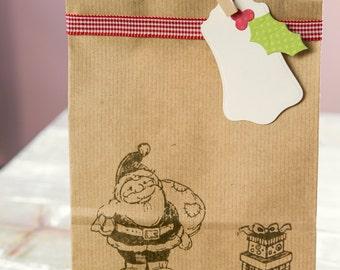 Christmas gift bags - set of 5