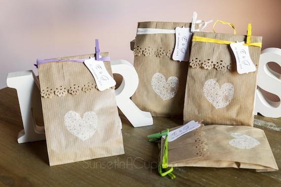 Scatole confetti offerte e risparmia su ondausu for Sacchetti di carta fai da te