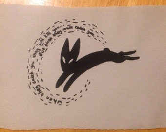Black Rabbit Of Inle Patch