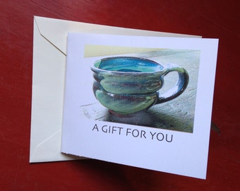 Greenbridge Pottery Gift Certificate No 2