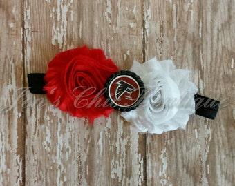 Atlanta Falcons elastic infant, toddler, or adult headband