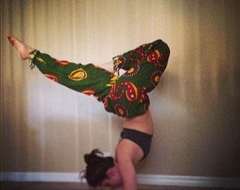 Rasta Yoga Pants