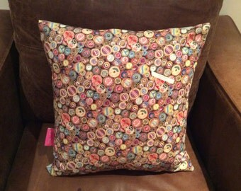 Sewing threads large cushion