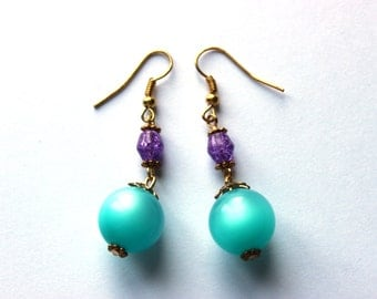 Mermaid's Kiss Dangle Earrings