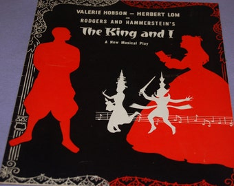 The King and I - Original Theatre Programme, Theatre Royal