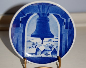 Danish Royal Copenhagen Plaquette - Church Tower at Hvidovre - FREE SHIPPING