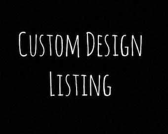 Custom Blanket Listing for Rachel