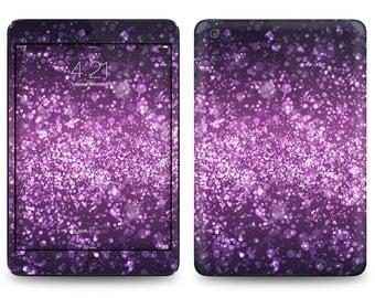 Purple Shimmer Print - Apple iPad Air 2, iPad Air 1, iPad 2, iPad 3, iPad 4, and iPad Mini Decal Skin Cover